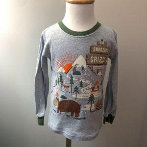 Carter's Boy's Gray Campground Long Sleeve Shirt